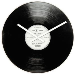 настенные часы SPINNING TIME