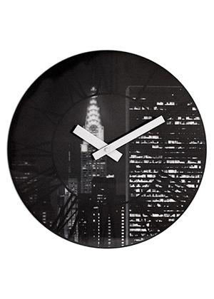 настенные часы THE CITY с 3D эффектом