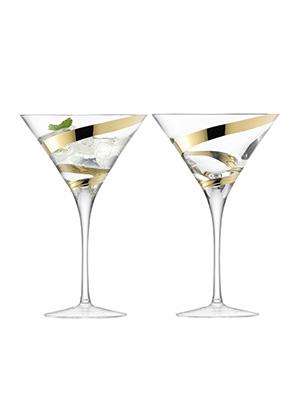 бокал для мартини MALIKA GRAND, сет 2 шт.