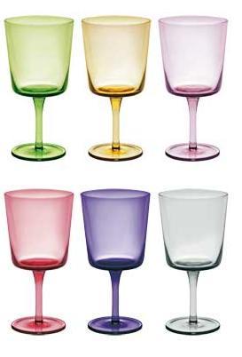 бокалы для вина MIX, сет 6 шт.