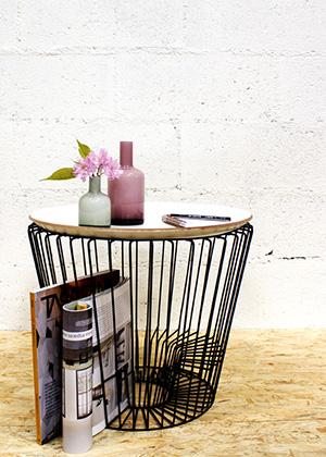 журнальный столик со съёмной крышкой-подносом MATT COFFEE